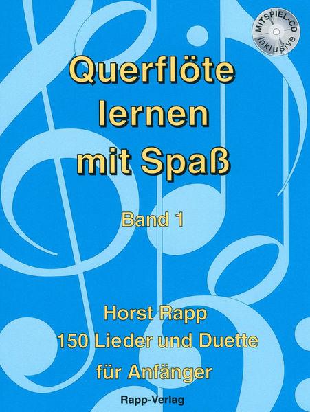 Querflöte Lernen mit Spaß 1 Horst Rapp Verlag