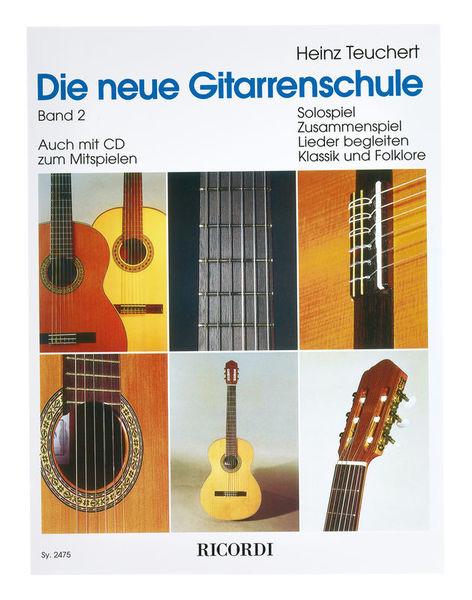 Die neue Gitarrenschule 2 Ricordi