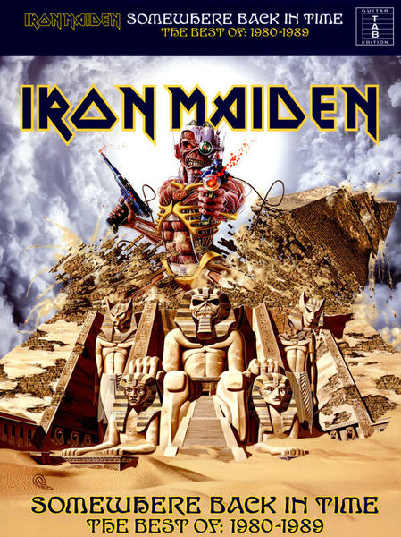 Iron Maiden Somewhere Back In Wise Publications