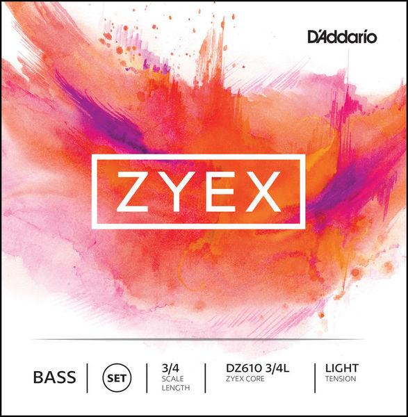 DZ610-3/4L Zyex Bass 3/4 Daddario