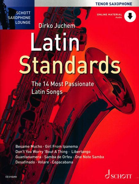 Latin Standards T-Sax Schott