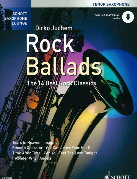 Rock Ballads Tenor Saxophone Schott