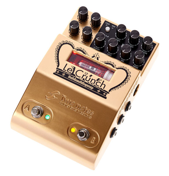 Le Crunch Dual Channel Preamp Two Notes