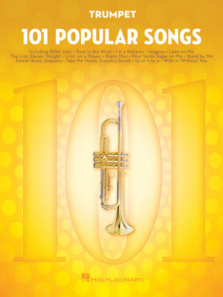 101 Popular Songs Trumpet Hal Leonard