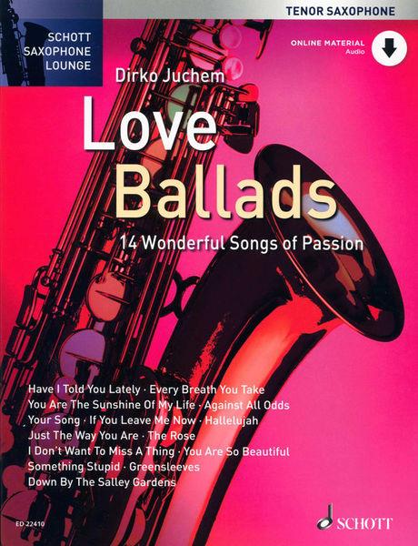 Love Ballads T-Sax Schott