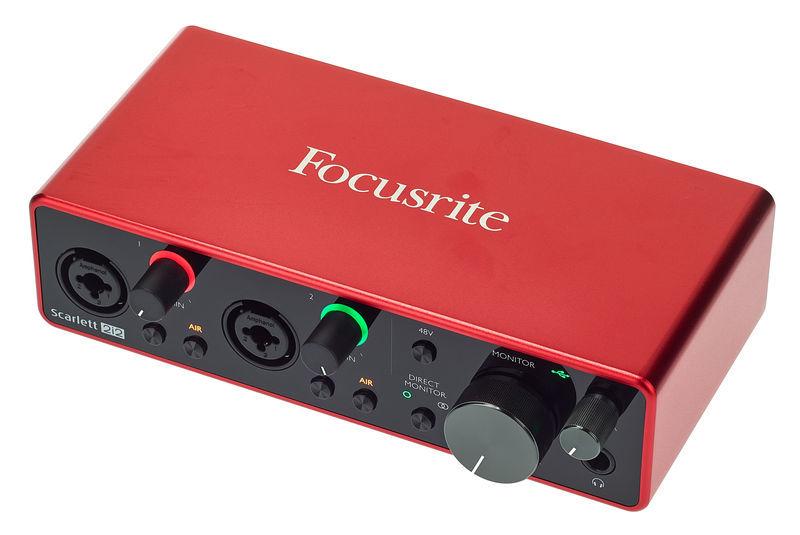 Scarlett 2i2 3rd Gen Focusrite