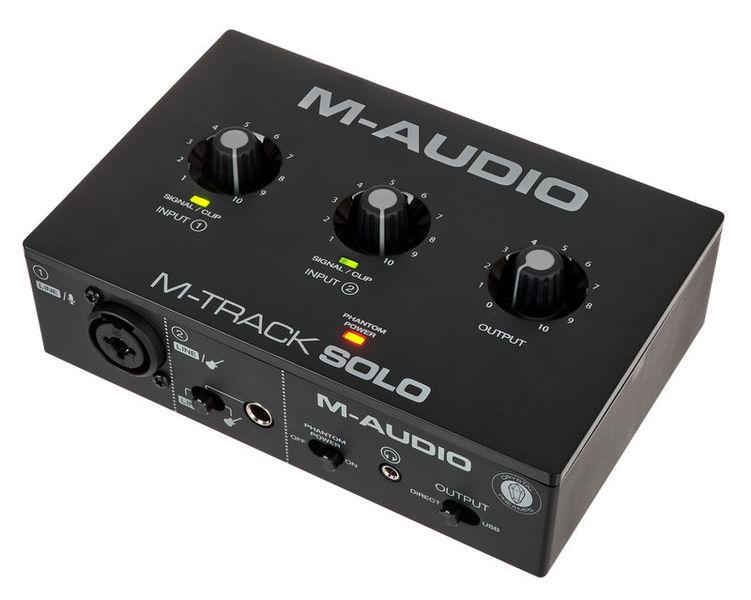 M-Track Solo M-Audio