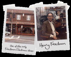 az alapító, Henry Freedman