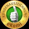 eKomi Kundenbewertungen anzeigen